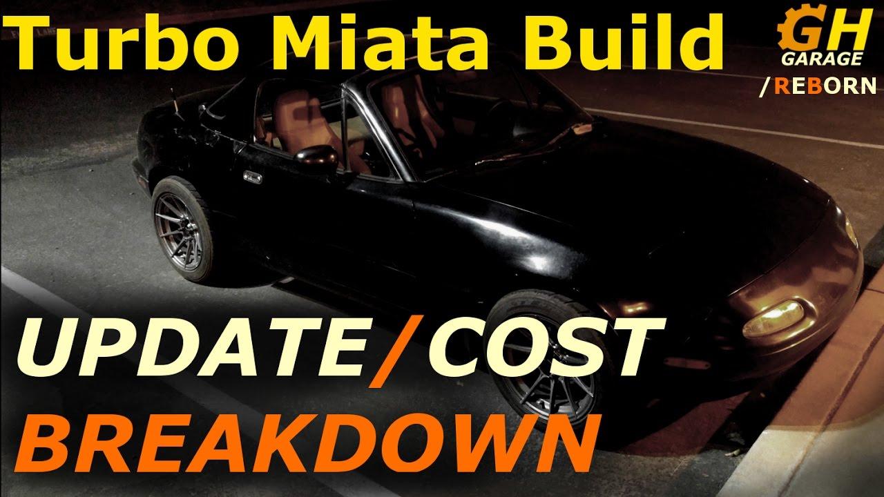 Turbo Miata Build Update And Cost Breakdown 1 Reborn 15