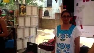 Recorriendo la feria en san Pablo Huixtepec