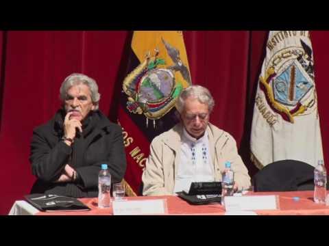 Conferencia Magistral de Frei Betto teólogo de la Liberación
