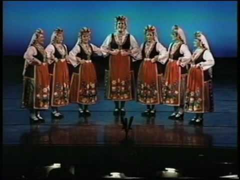 Bulgaria: Български Народни Песни - Китка / Bouquet of Bulgarian Folk Songs (EDT Vocal Ensemble) Travel Video