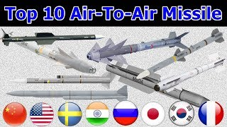 दुनिया की शीर्ष 10 सबसे अच्छी Air-To-Air Missile   World's Top 10 Best Air-To-Air Missile