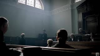 Шерлок и Мориарти в суде.  шерлок 2 сезон 3 серия дедукции в суде. Шерлок умничает в суде.