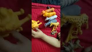 Wild animals - finger family - fun time - kids pretend playing