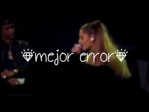 Ariana Grande (ft Big Sean) ''Best Mistake'' LIVE iHeartRadio Concert Stream TRADUCIDA