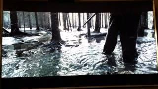 Part 3 The Revenant upscaled Blu-ray vs 4k - Samsung K8500 - JS9500