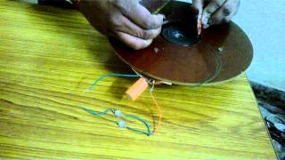 Energy harvesting using Piezo-Element Part-III(In this video, the piezo elements are being striked by the shaft and Energy generated by Piezo-Elements is stored in a Capacitor. As the Capacitor is fully ..., 2014-11-11T09:47:14.000Z)