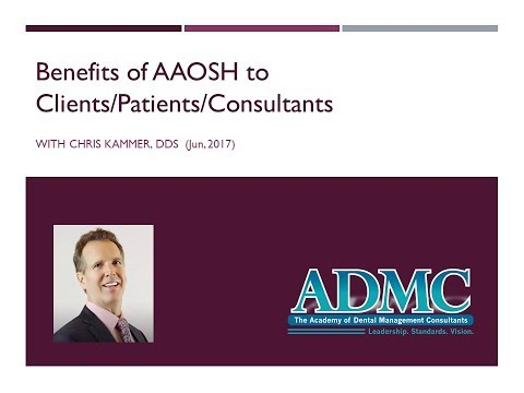 Benefits of AAOSH (ADMC.net)