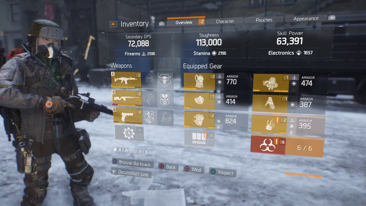 Tom Clancy Best Build
