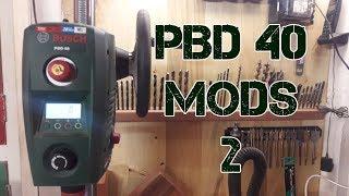 Bosch PBD 40 Mods (Part 2) | Side Handle