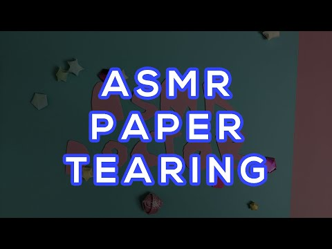 Do All Papers Sound The Same? | ASMR (57min NO TALKING)
