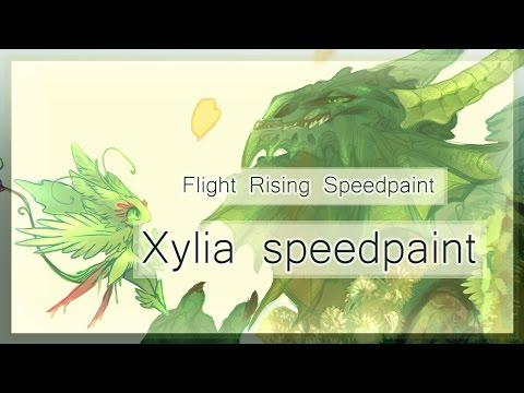 Flight Rising - Xylia speedpaint