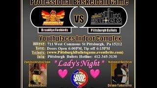 pittsburgh bullets full game film vs brooklyn firebirds feb 16 2014 nabdla