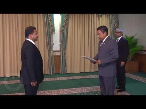 President Appoints Ambassador to the Democratic Socialist Republic of Sri Lanka