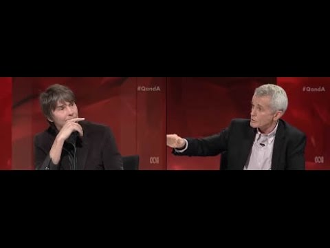 Professor Brian Cox explains climate science to denier Australian Senator Malcolm Roberts
