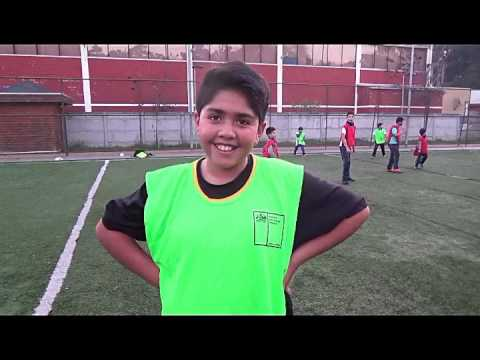Lota deportes, taller de futbol Municipal de lota  1 (19. 05. 2017)
