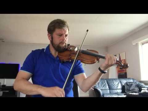Irish fiddle: Humours of Tulla