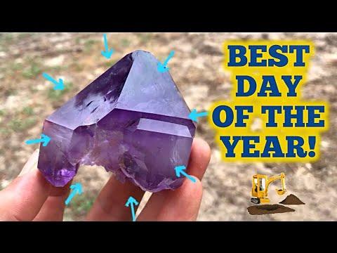 Jackson's Cross Roads Amethyst Mine | Found AMAZING Crystals!