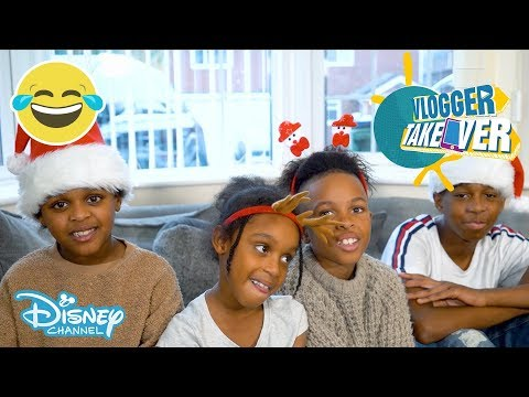 Vlogger Takeover | Tekkerz Kid Xmas Game | Disney Channel UK