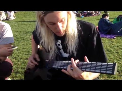Freestyling in Dolores Park with MI Guitar