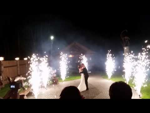 Свадьба - наземные фонтаны