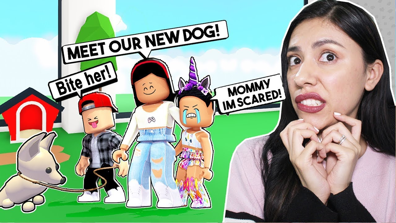 My DAUGHTER Is SCARED Of Our NEW PET! - Roblox - Adopt Me Pets UPDATE