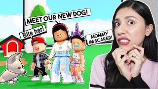 Meine TOCHTER ist SCARED von unserem NEUEN PET! - Roblox - Adopt Me Haustiere UPDATE
