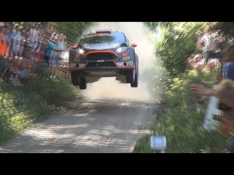 WRC 72.Rally Poland 2015 - Jump Compilation
