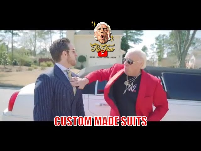 The Ric Flair Suit Collection By Mr. Custom Made