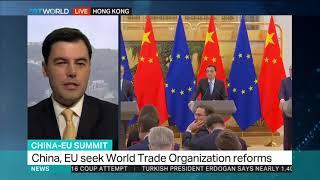 EU-China hold trade summit