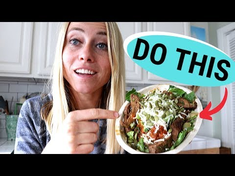 I Ordered a Healthy Chipotle Bowl [And Teach You How To Do It]