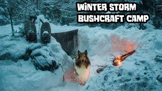 Overnight Winter Storm Bushcraft Camp