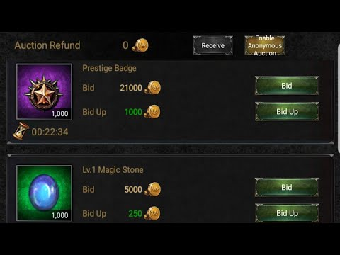 CLASH OF KINGS : AUCTION HOUSE - BASIC GUIDE