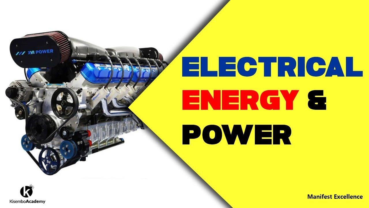 Electrical power formula
