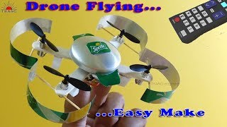 How To Make Remote Control Drone Helicopter at Home | 100% fly