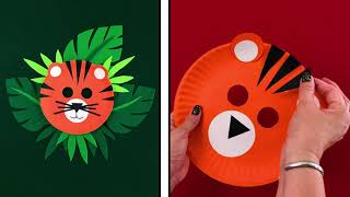 Make A Tiger Mask - \