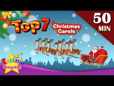 Jingle Bells +More Christmas Carols | Top 7 | Collection of Christmas Songs