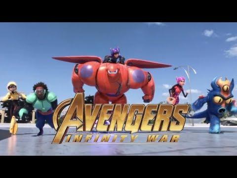 Avengers: Infinity War (Disney/Pixar Style)