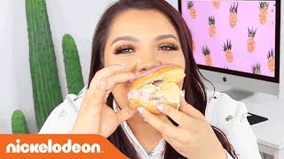 DIY Ice Cream Doughnut Sandwiches w/ Karina Garcia! | Nick
