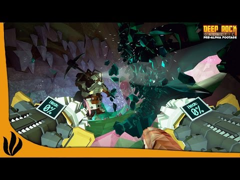 Deep Rock Galactic FR #1 - Exploration de Grottes en Coop !