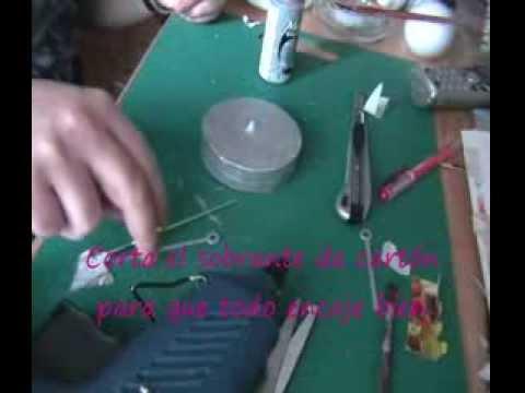 Reloj de dise o reciclado glamoruos tic tac youtube - Reloj de pared de diseno ...
