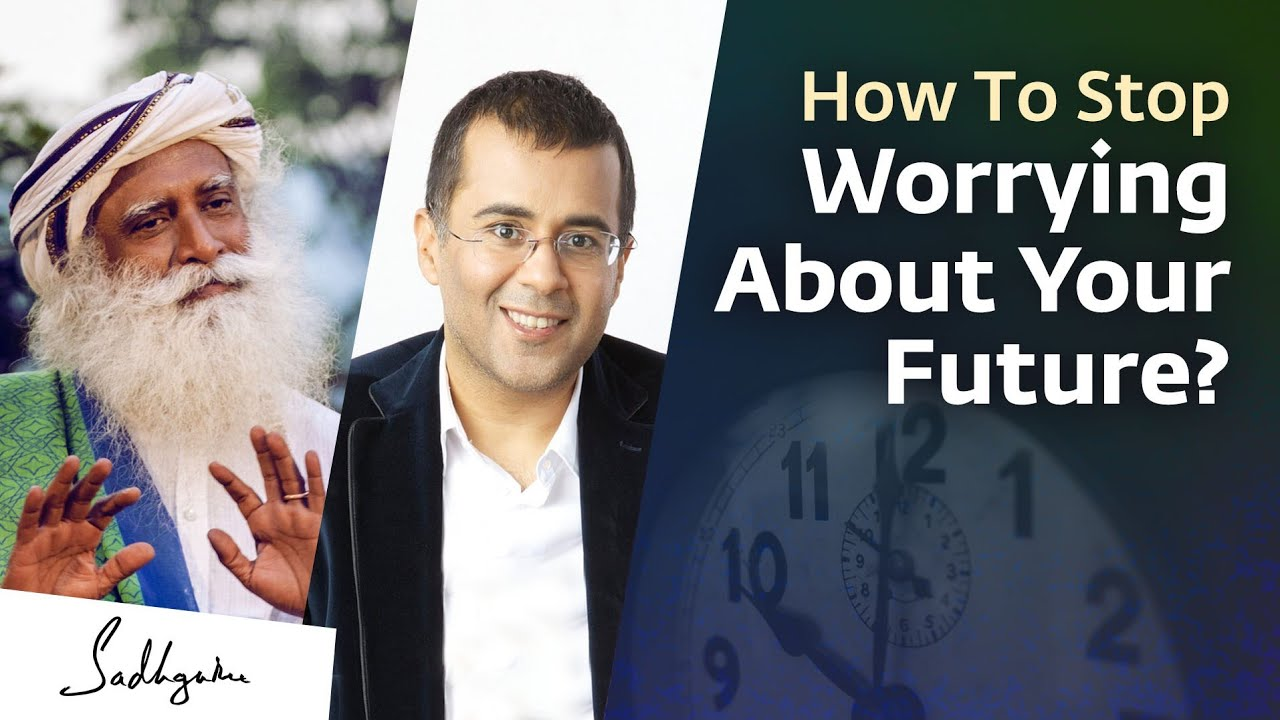 Download How Can We Stop Worrying About The Future | Chetan Bhagat Asks Sadhguru