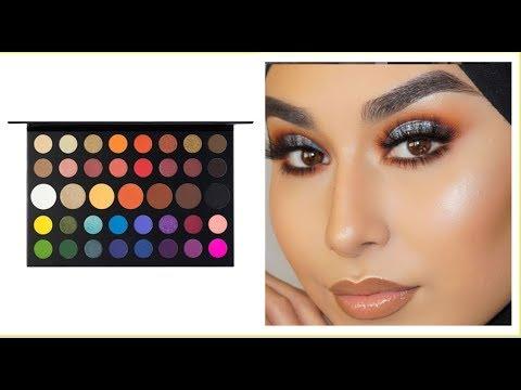 Download Morphe X James Charles Palette Makeup Looks Tutorial