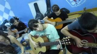 Bài học guitar đầu tay Happy birthday (GPT school)