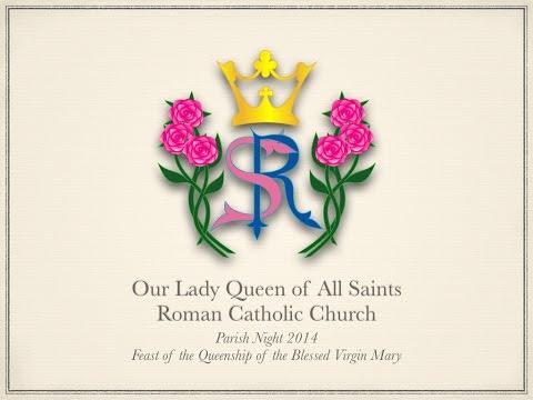 45th-Anniversary Our Lady Queen of All Saints Roman Catholic Church, Ville Platte, Louisiana
