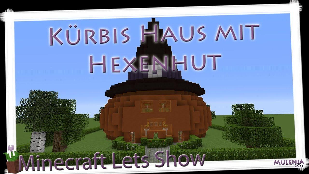 Minecraft Kürbis Haus mit Hexenhut | Lets Show - YouTube