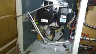 запуск отопления или отопление своими руками часть 5, отопление на дизельном топливе