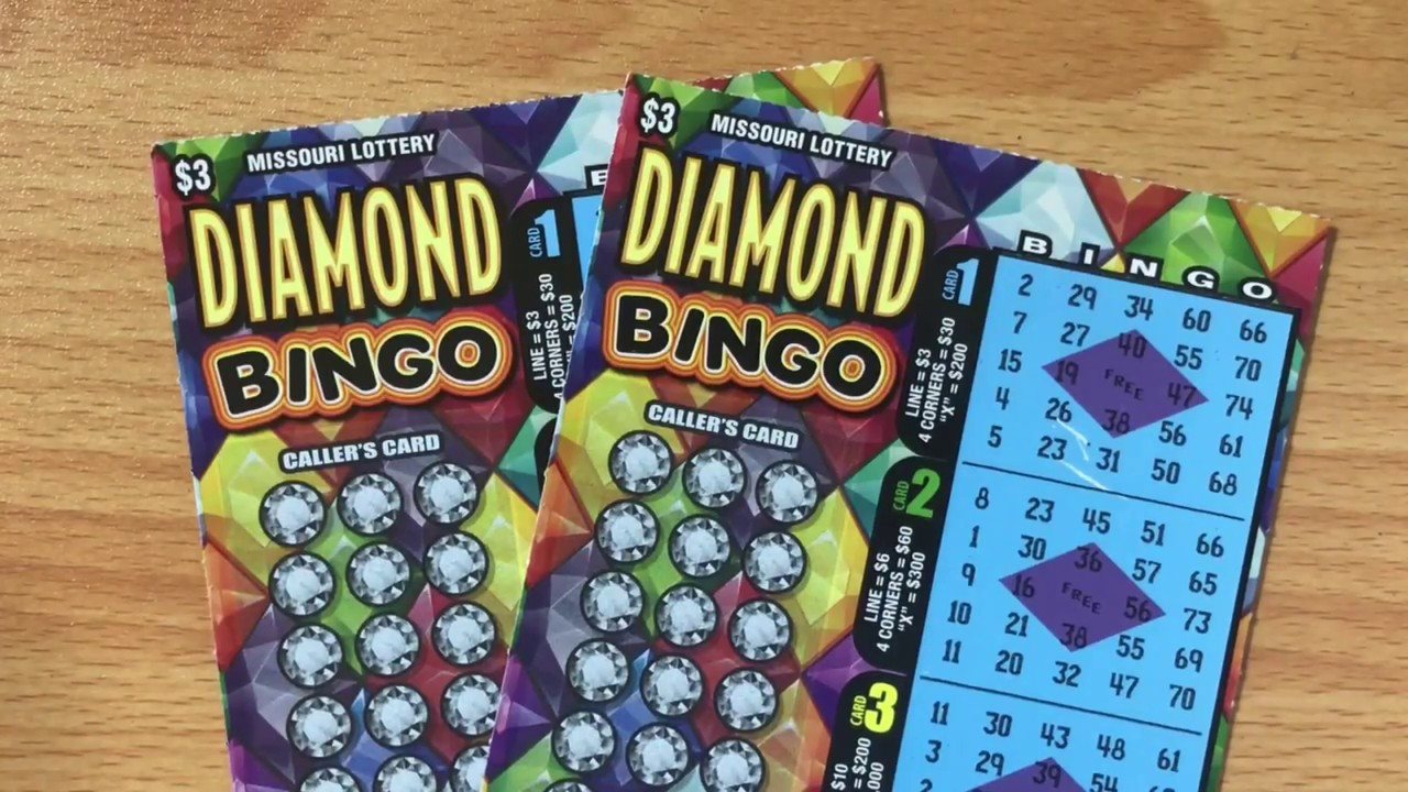 2 X 3 Diamond Bingo Missouri Lottery Scratch Off Tickets Youtube