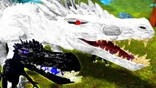 Roblox Dinosaur Simulator - NOVO ALBINO TERROR E PITCH BLACK TERROR (Remodel)! ELES ESTÃO LINDOS!