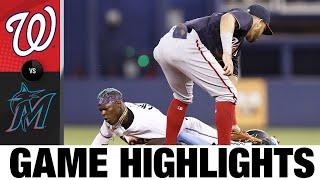 Nationals vs. Marlins Game Highlights (8/25/21)