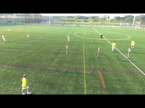 U16 Development Academy Passing Activity